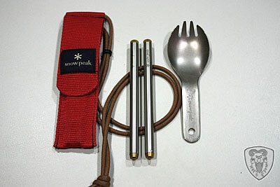 露營餐具集錦 - 叉匙篇