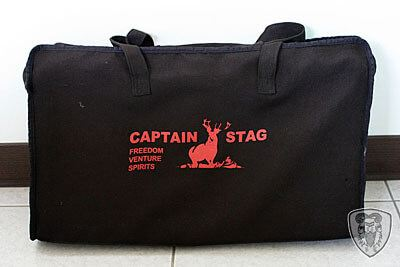CAPTAIN STAG M-8249 鹿牌瓦斯雙口爐