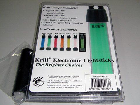 Krill Lamp 冷光燈