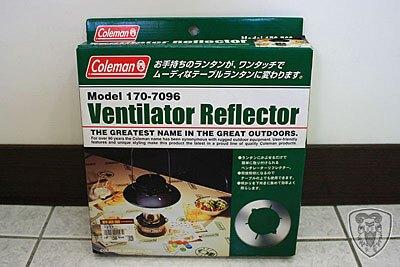 Coleman Ventilator Reflector 反光燈帽 (燈罩)