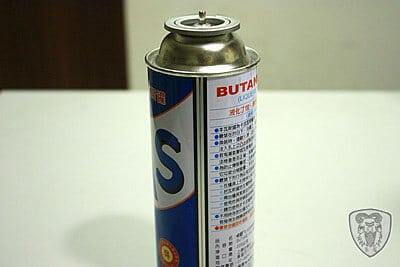 瓦斯燃料罐 (罐裝瓦斯) 分享
