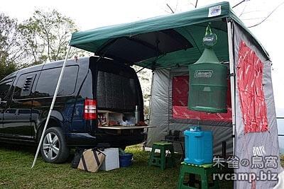 VW 福斯 CADDY 2.0 Maxi 4motion 露營用車中床組規劃分享