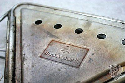 Snow Peak 焚火台 (S) 底板 (ST-031BP) + 攜行袋 (ST-031BR)