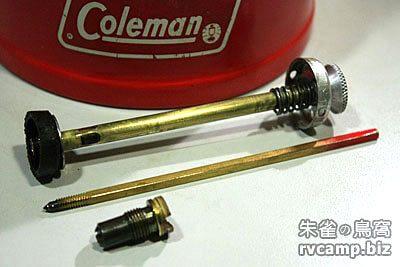 Coleman 200A 汽化燈逆止閥拆解 (Check Valve)