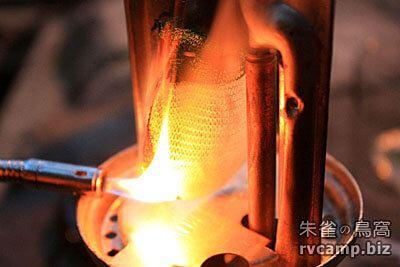 汽化 (瓦斯) 燈具燈芯燒製過程分享 (Coleman 3022)