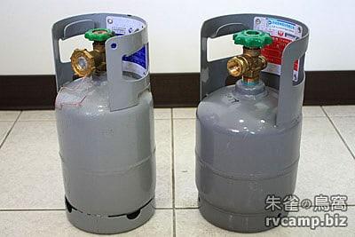 朱雀聊露營 - 轉灌 (回填) 高山瓦斯罐的安全問題