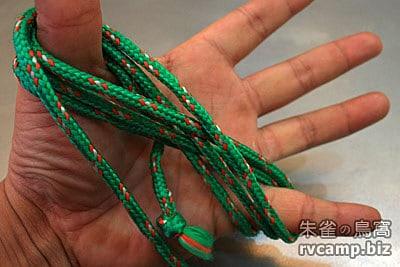 露營常用繩結 - 單結 + 八字結 + 快速收繩法 (首篇)