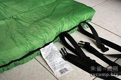 Eureka! Cayuga 15 卡育加信封型睡袋 (-9.4℃)