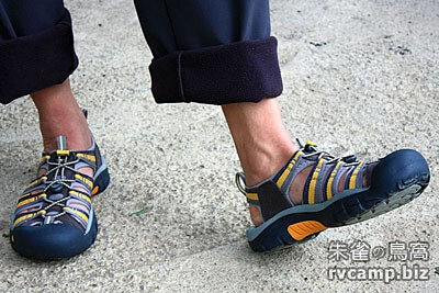 KEEN Waterfront Newport H2 護趾型戶外運動涼鞋