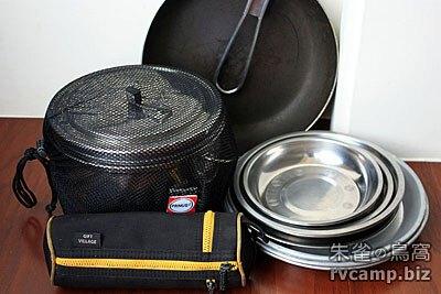 PRIMUS Gourmet Saucepan 2.9L 不鏽鋼湯鍋 + 其他炊具組件