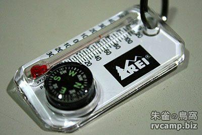 REI Therm-o-Compass 迷你型指南針 (羅盤) 溫度計