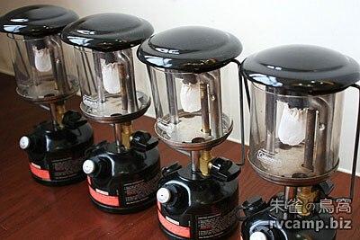 Coleman 汽化燈具操作過程說明 (點燈方式)