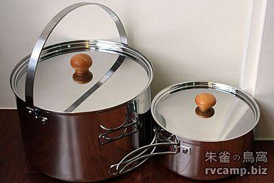 UNIFLAME fan5 DX 不鏽鋼/鋁合金鍋具組 (五件式套鍋組)