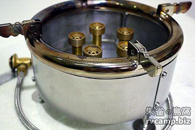 永安快速爐可拆卸式不鏽鋼擋風板套件 (精緻型專用)