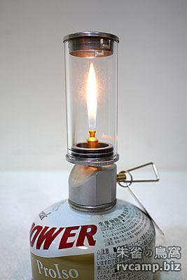 Snow Peak GL-140 Little Lamp Nocturne 瓦斯燭燈