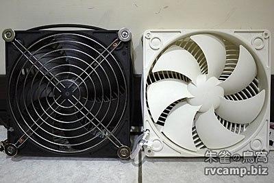 小太陽 10 吋直流風扇 + 銀欣 AP182 直流散熱扇 (DC12V)